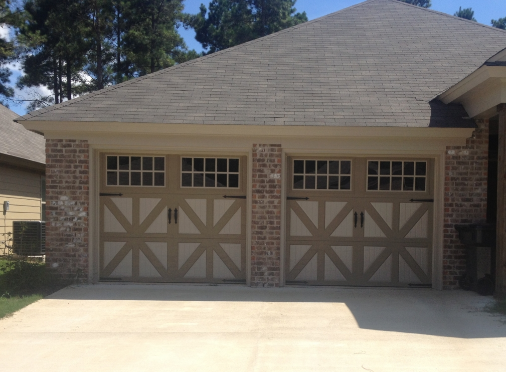 new garage showroom double steelback door plano look area inside installation service